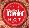 Condé Nast Traveler 'Hot List Hotel'