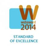 "WebAward: SLSVegas.com ""Hotel and Lodging Standard of Excellence"""
