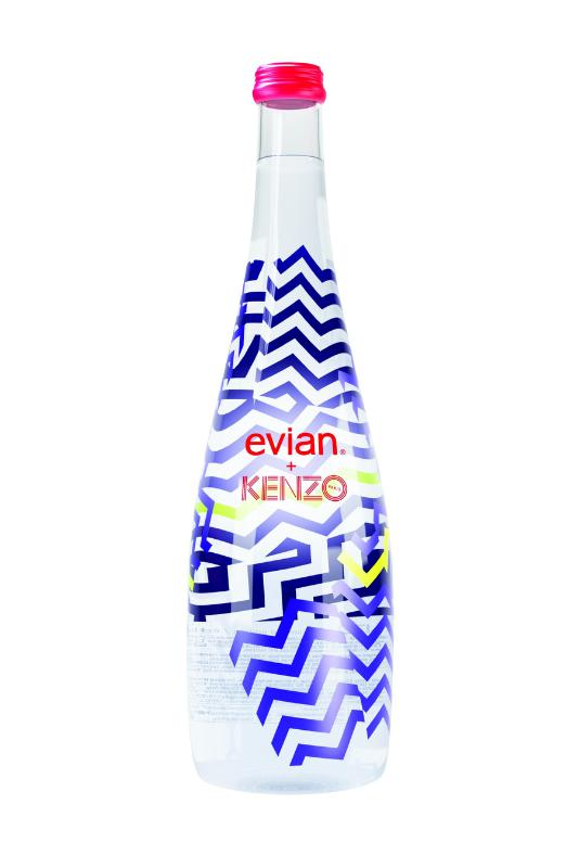 evian and KENZO Bottle the blog