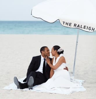 Gracia & Dan's South Beach Wedding
