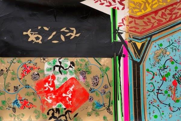 Elham-Rokni_Wallpaper-cut-2015_Mixed-media-on-paper_22.75-x-32.75-x-2-inches1-1024x684