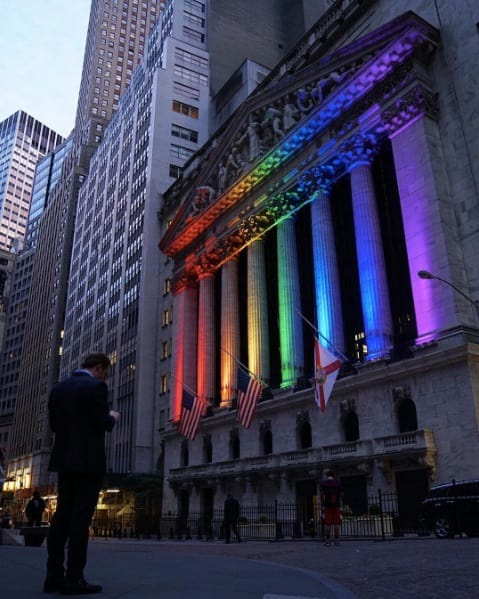 NY Stock Exchange photo by @petit.tom26