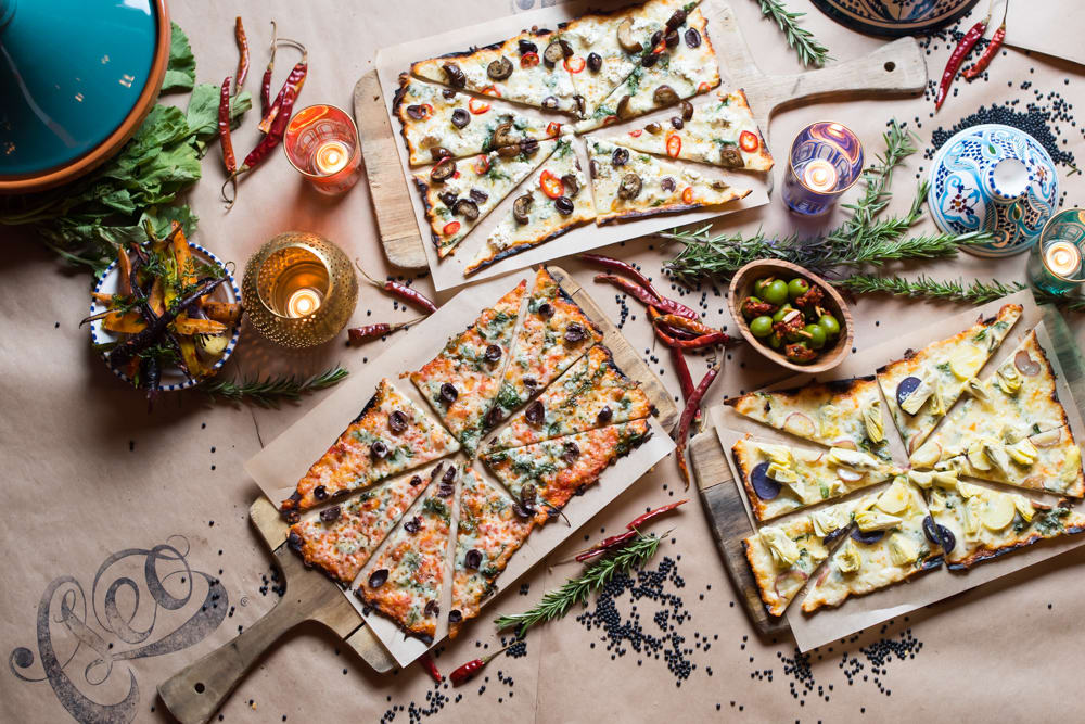 Seasonal Flatbreads from Cleo