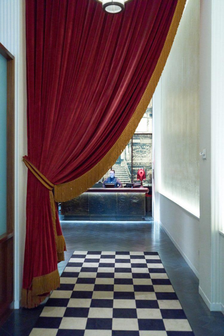 The Redbury's classy interior, designed by Matthew Rolston