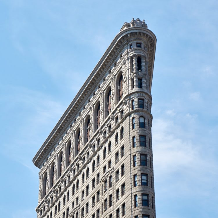 The oh-so-photogenic Flatiron Building