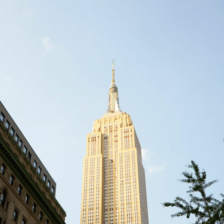 A classic: the Empire State Building