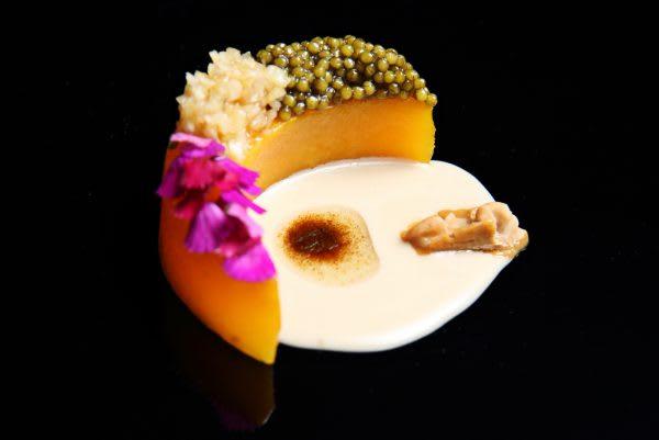 SAAM_Butternut Squash with Caviar + Truffles