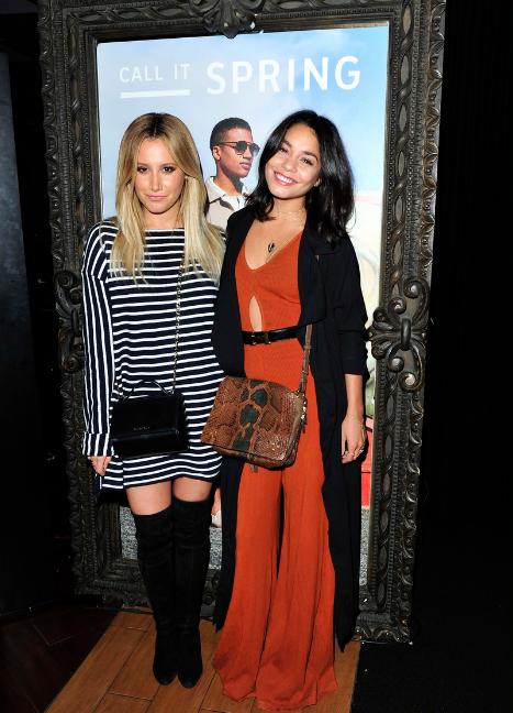 Call it Spring Lounge at Hyde Staples with Ashley Tisdale and Vanessa Hudgens