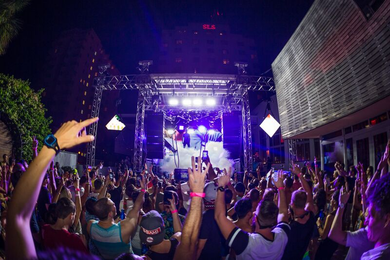 Dash Berlin & New World Punx at Hyde Beach at SLS South Beach