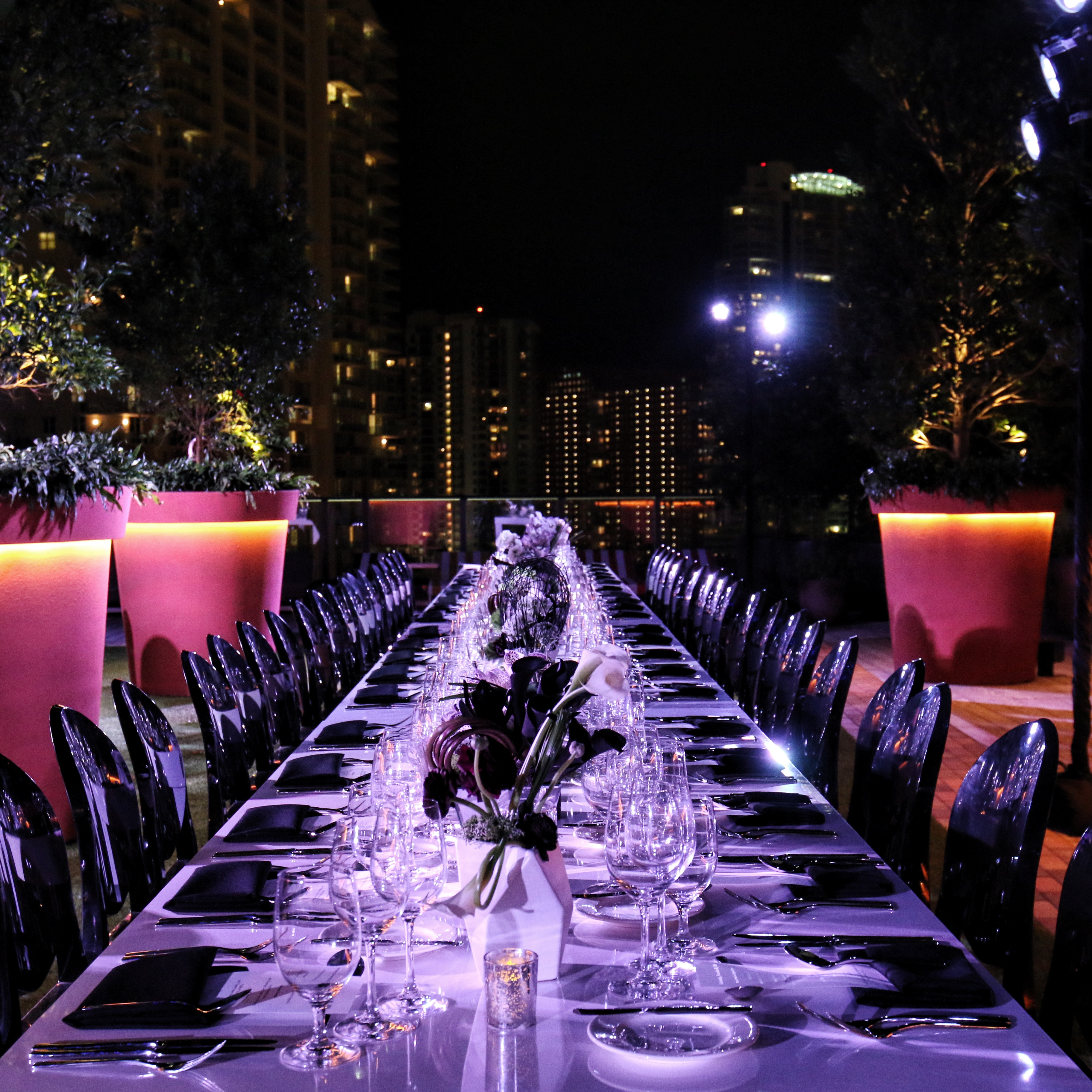 Pamm Stewardship Dinner at SLS Brickell with Jorge Pérez