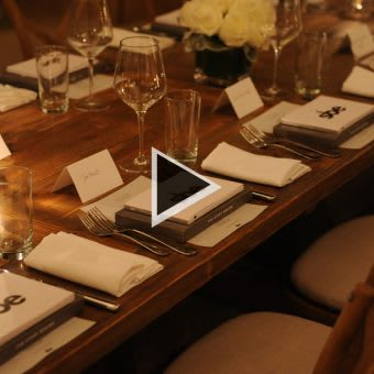 VIDEO: sbe Acquires Morgans Hotel Group Celebration Dinner at Delano South Beach