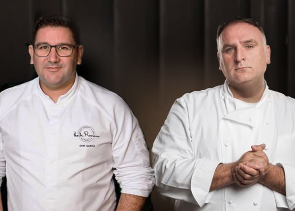 Collaborative Chef Experience with Jose Andres and Dani Garcia at Bazaar Mar for Taste of sbe