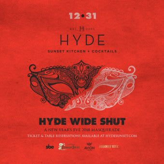 HYDE Wide Shut Masquerade