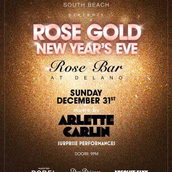 Rose Gold NYE