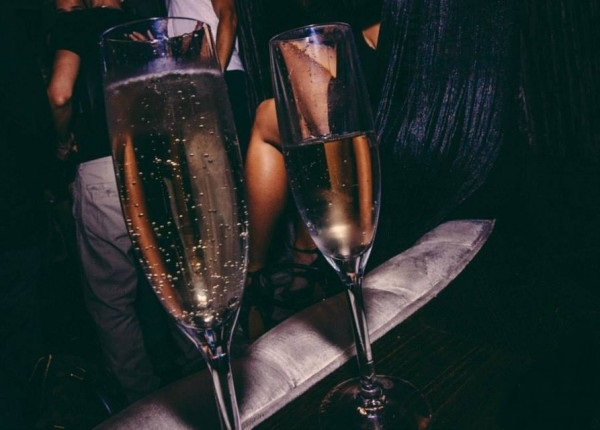 Poppin' Off! Get a Bottle of Champagne at Hyde STAPLES