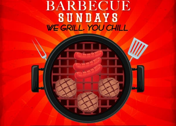 Barbecue Sundays – We Grill, You Chill.