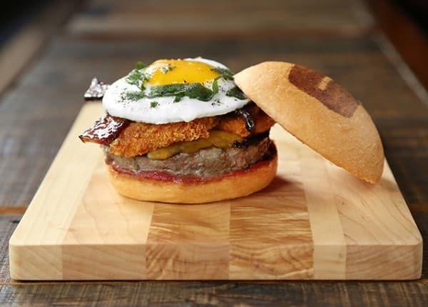 The Alton Burger by Alton Brown