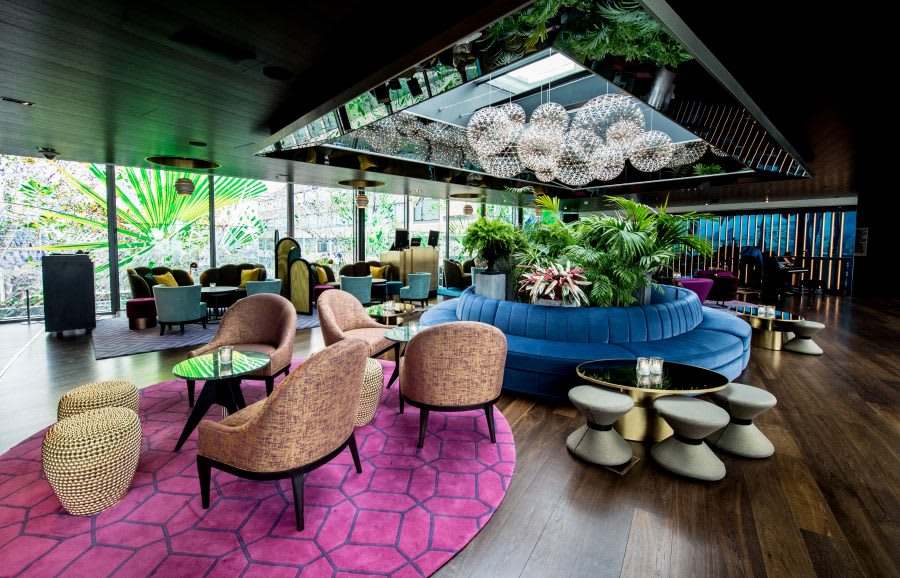 Welcome to London\'s Rooftop Playground: Rumpus Room | sbe.com