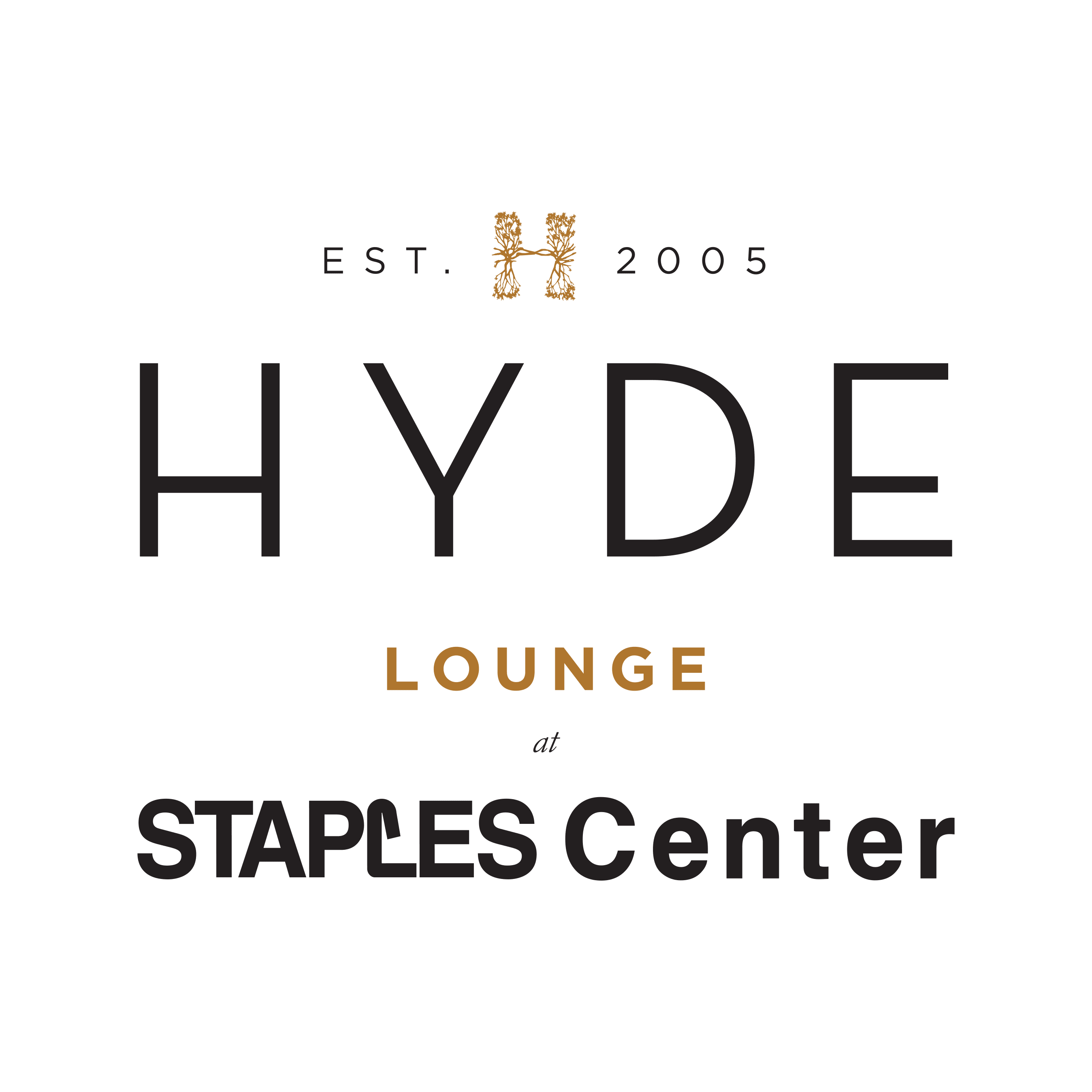 Hyde Lounge at Staples Center
